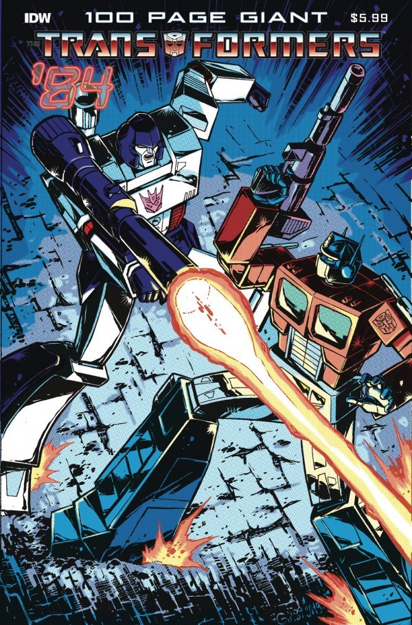 Transformers '84: Legends and Rumors 100 Page Giant #1