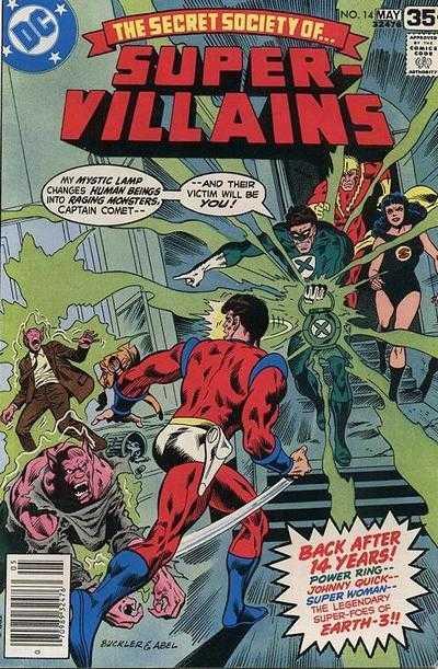 The Secret Society of Super-Villains #14