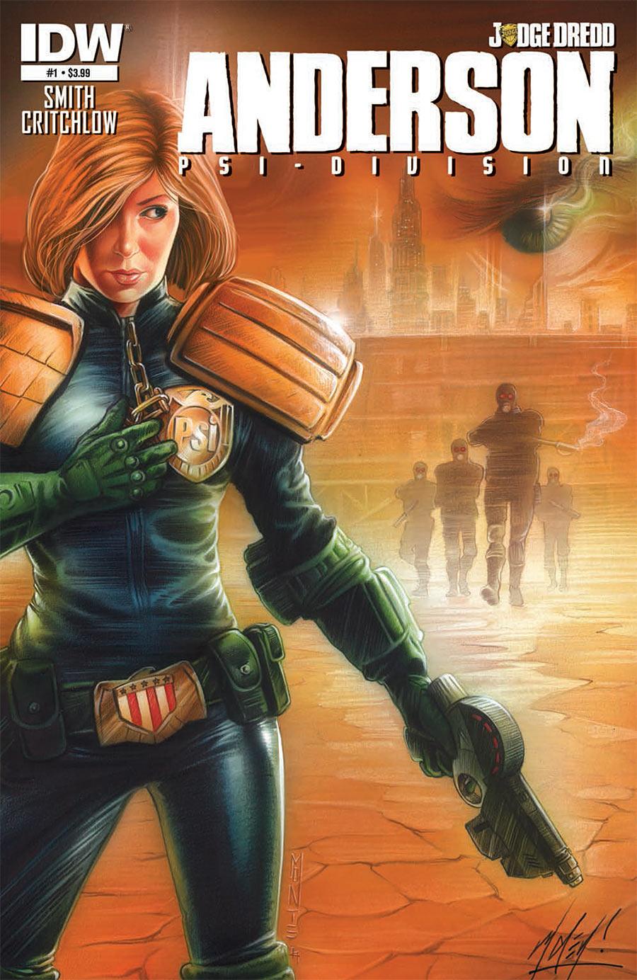 Judge Dredd: Anderson, Psi Division #1