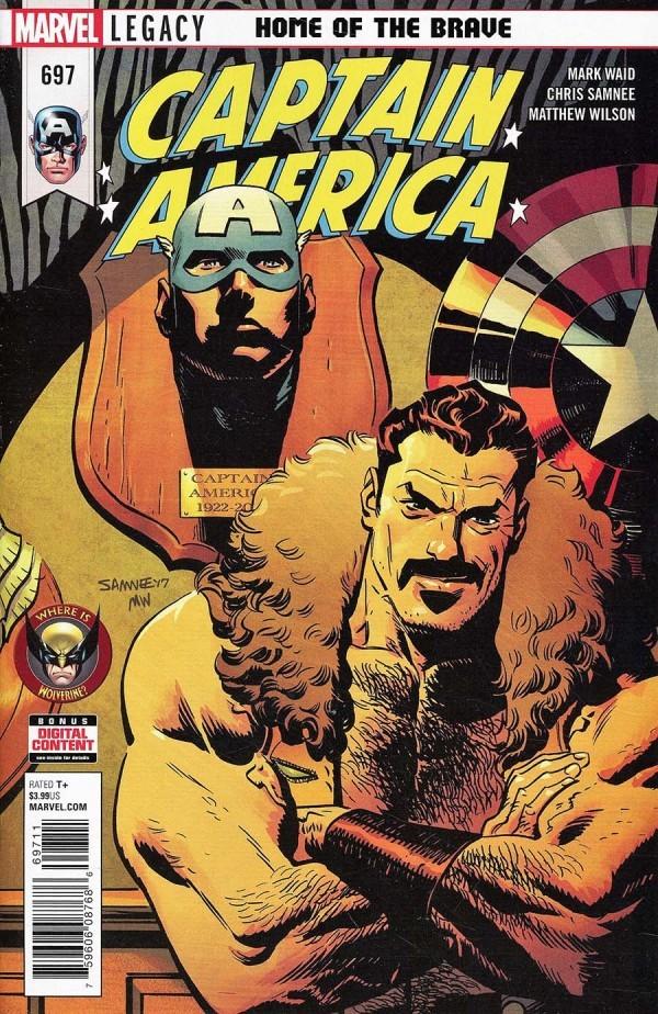 Captain America #697