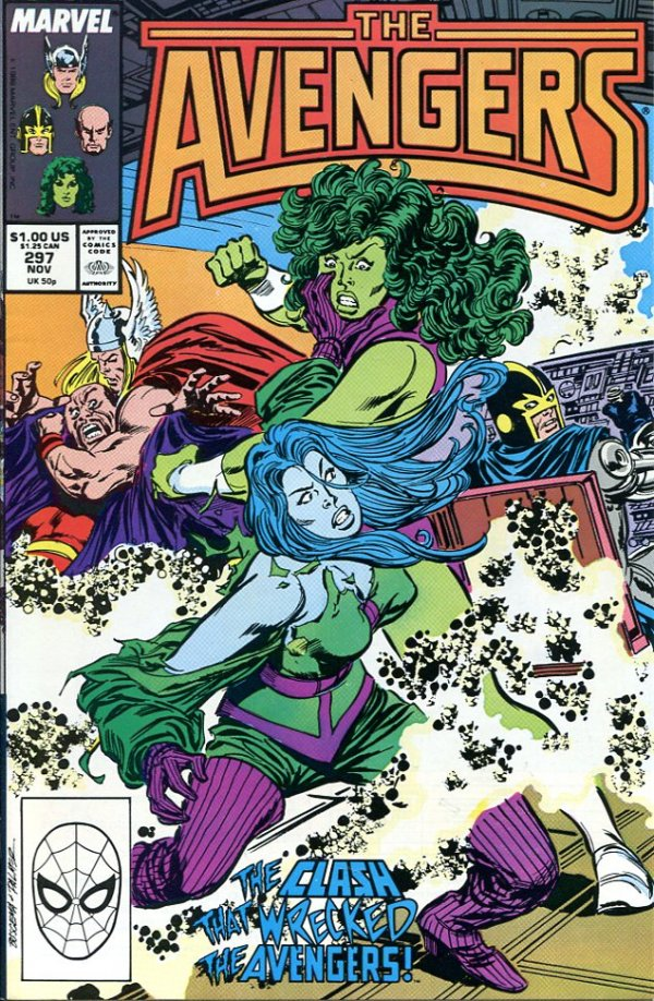 The Avengers #297