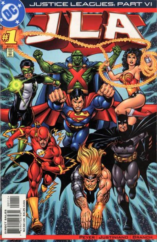 Justice Leagues: JLA #1