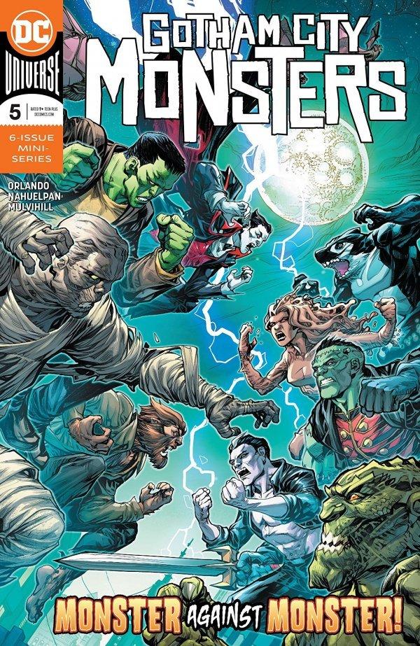 Gotham City Monsters #5