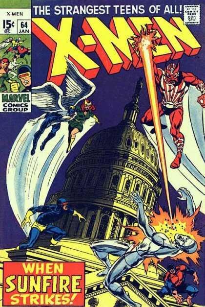 The X-Men #64