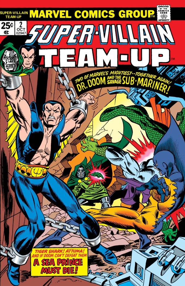 Super-Villain Team-Up #2