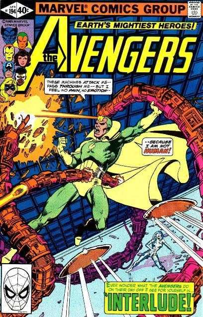 The Avengers #194