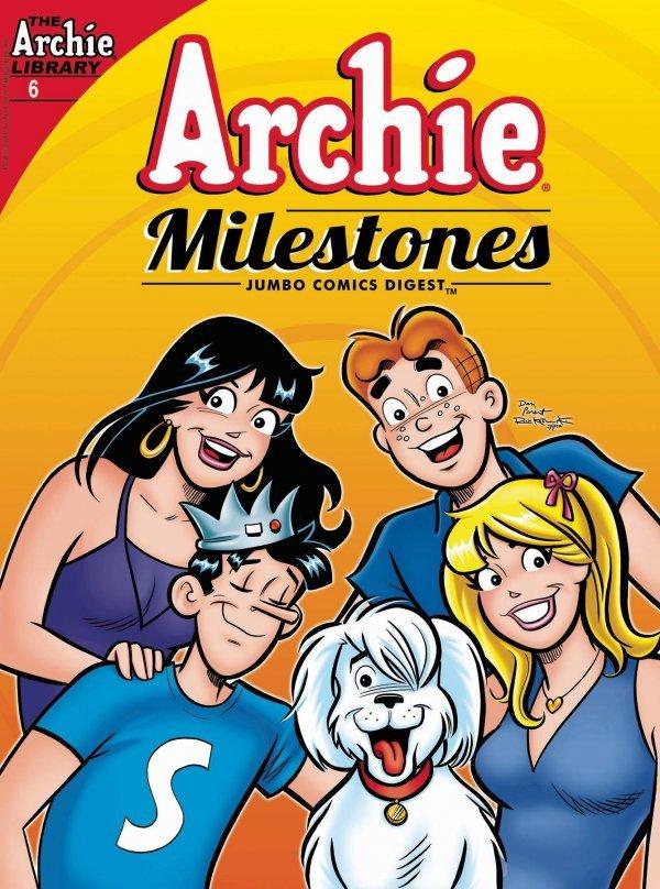 Archie Milestones Jumbo Comics Digest #6