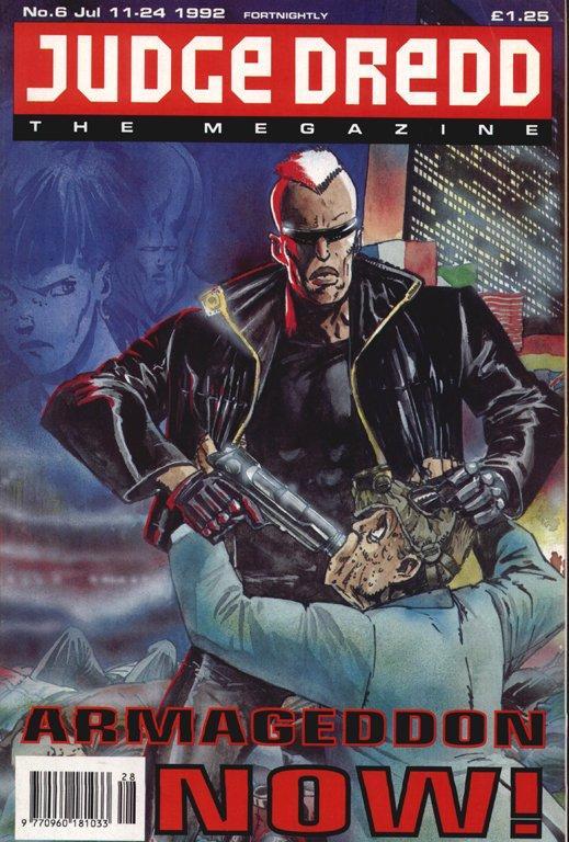 Judge Dredd: The Megazine #6