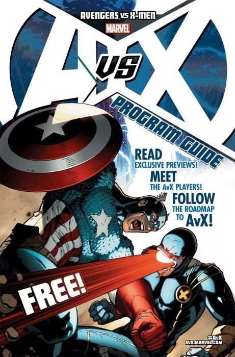 Avengers vs X-Men: Program Guide #1