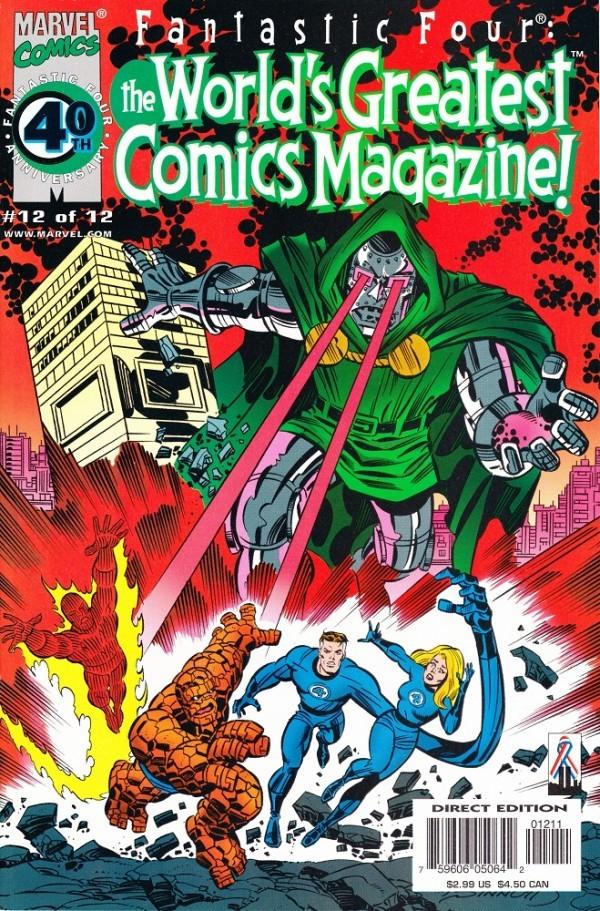 Fantastic Four: The World's Greatest Comics Magazine #12