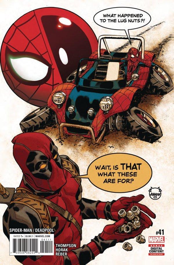 Spider-Man / Deadpool #41