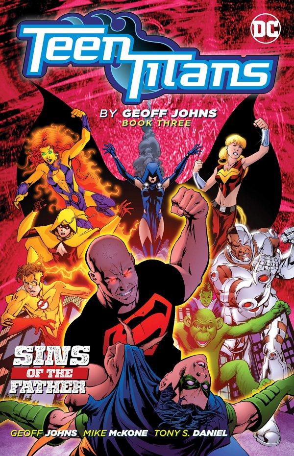 Teen Titans By Geoff Johns Book Three TP