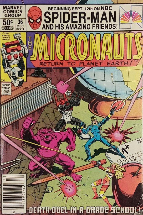 Micronauts #36