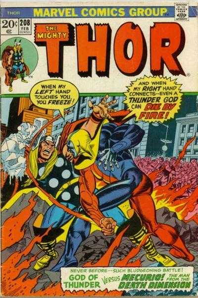 The Mighty Thor #208