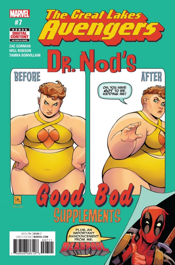 The Great Lakes Avengers #7