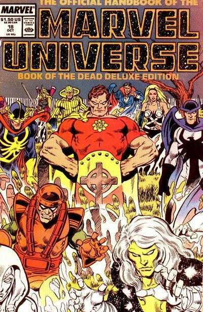 The Official Handbook of the Marvel Universe #18