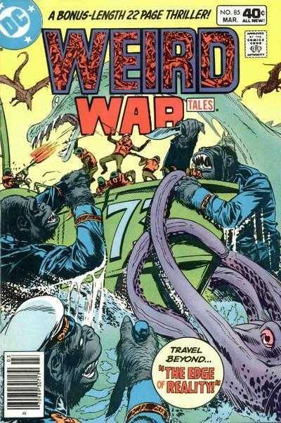 Weird War Tales #85