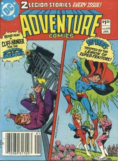 Adventure Comics #495