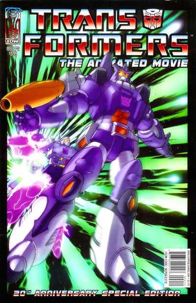 The Transformers Animated Movie Adaptation #2