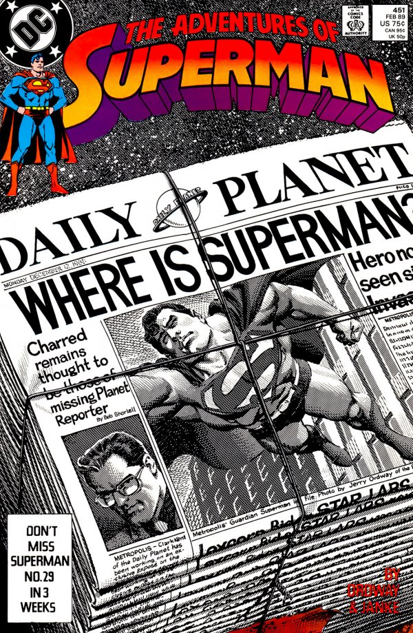 Adventures of Superman #451