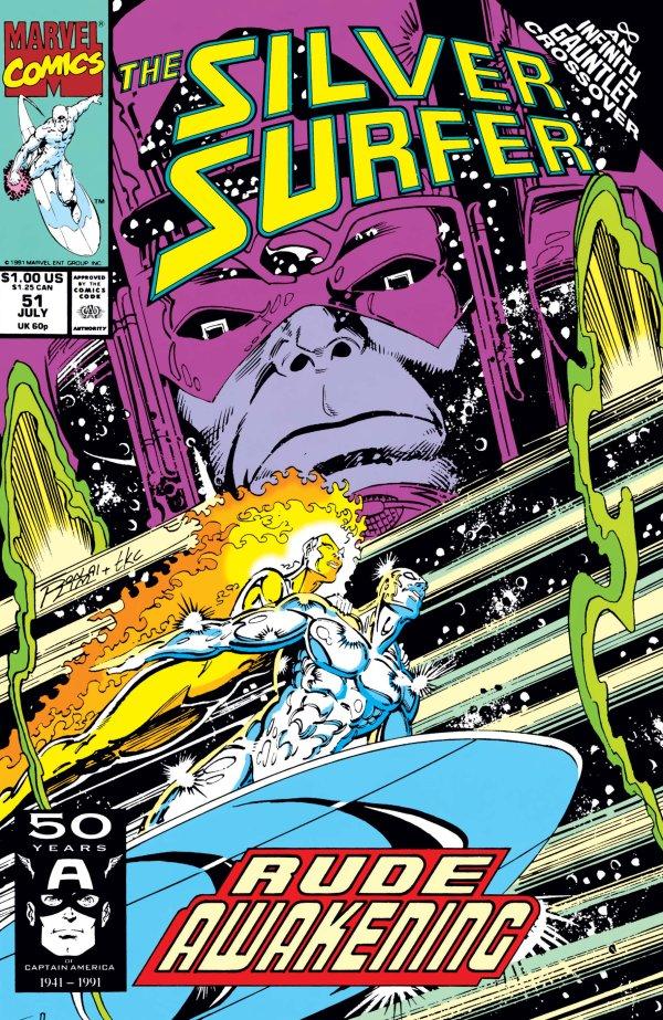 Silver Surfer #51