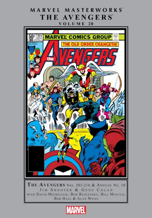 Marvel Masterworks: The Avengers Vol. 20 HC