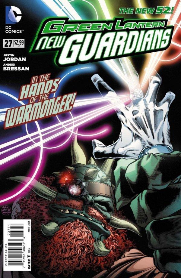 Green Lantern: New Guardians #27