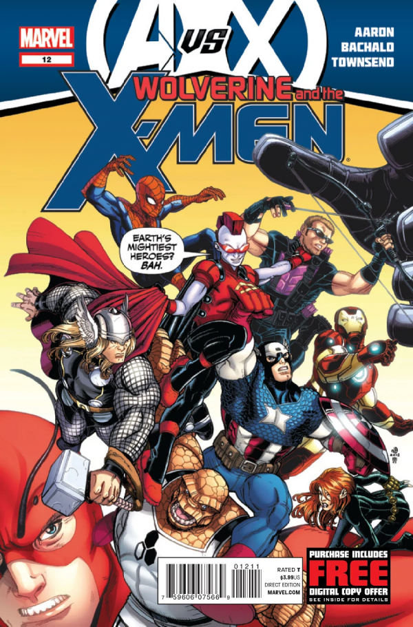 Wolverine and the X-Men #12