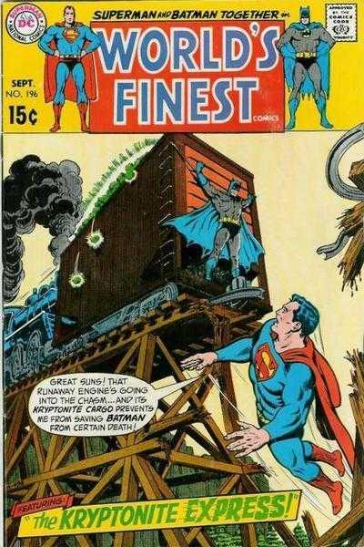 World's Finest Comics #196