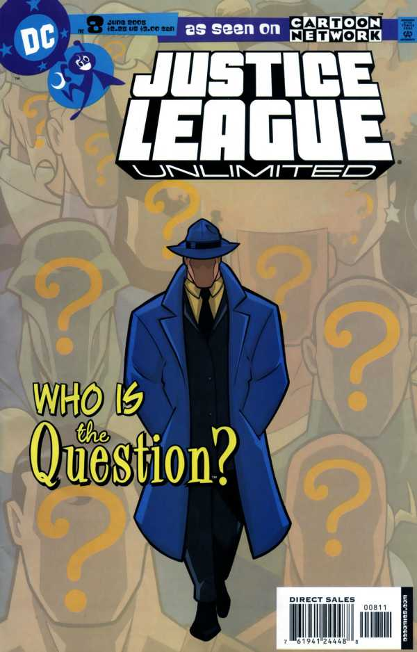 Justice League Unlimited #8