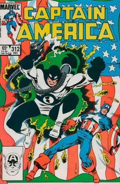 Captain America #312