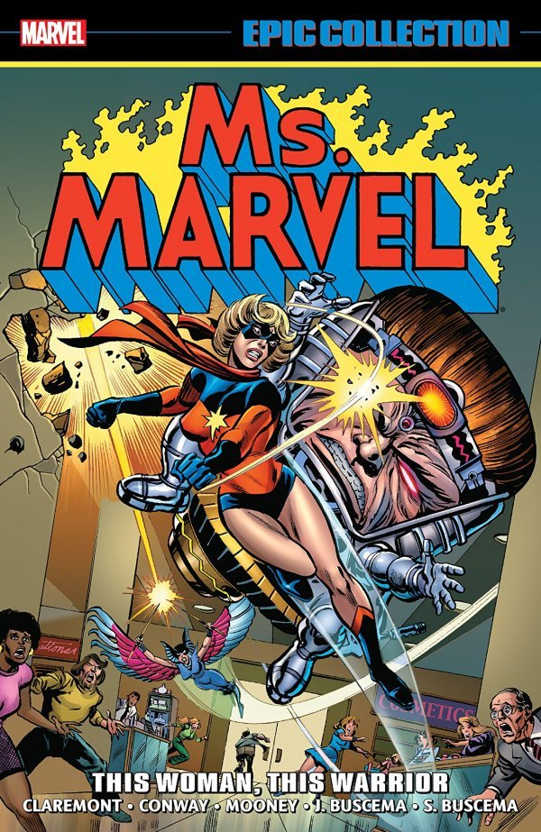 Ms. Marvel Epic Collection: This Woman, This Warrior TP