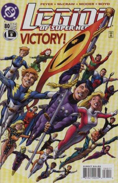 Legion of Super-Heroes #80