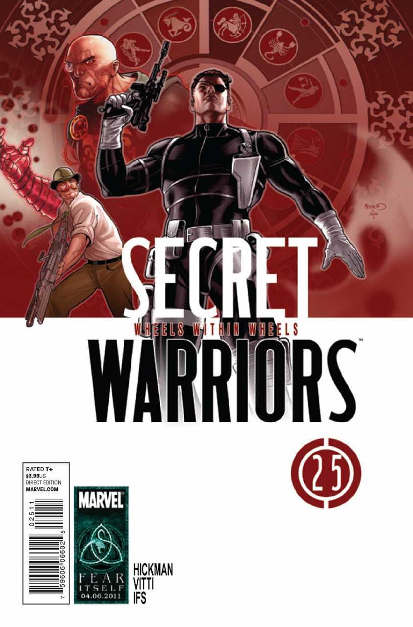 Secret Warriors #25