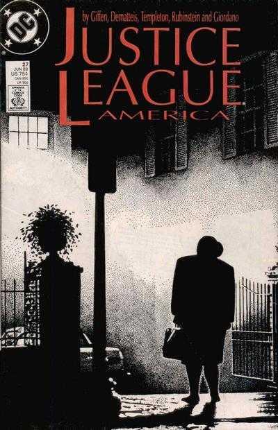 Justice League America #27