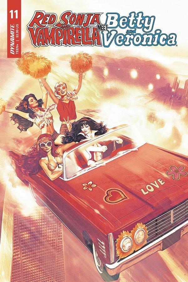 Red Sonja & Vampirella Meet Betty & Veronica #11