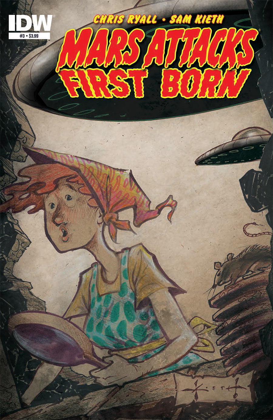 Mars Attacks: First Born #3