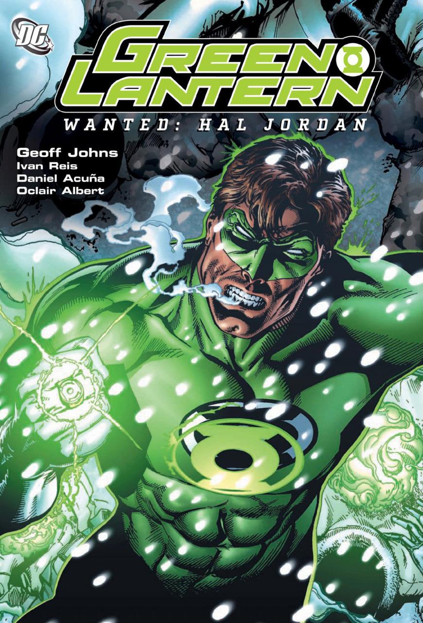 Green Lantern - Wanted: Hal Jordan TP