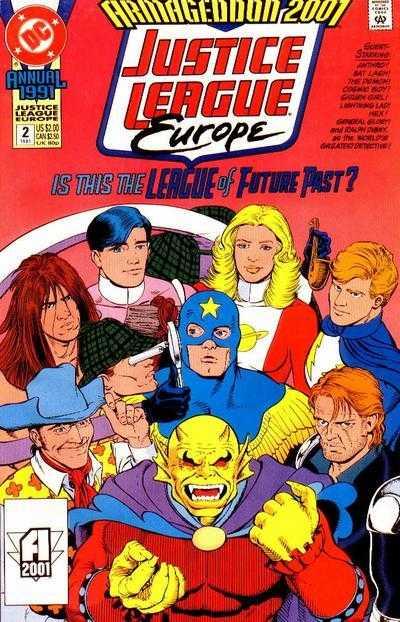 Justice League Europe Annual #2