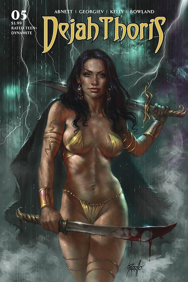 Dejah Thoris #5 review