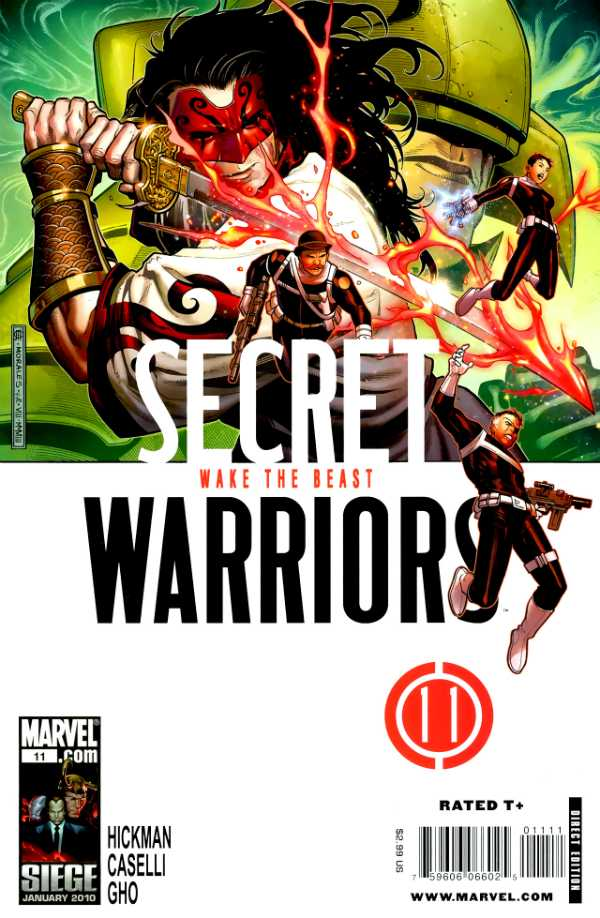Secret Warriors #11