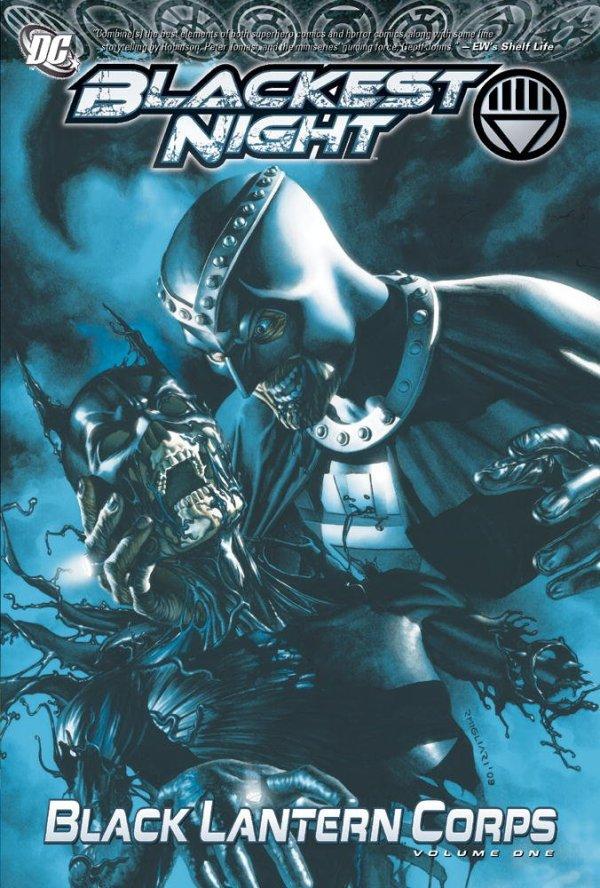 Blackest Night Black Lantern Corps Vol. 1 HC