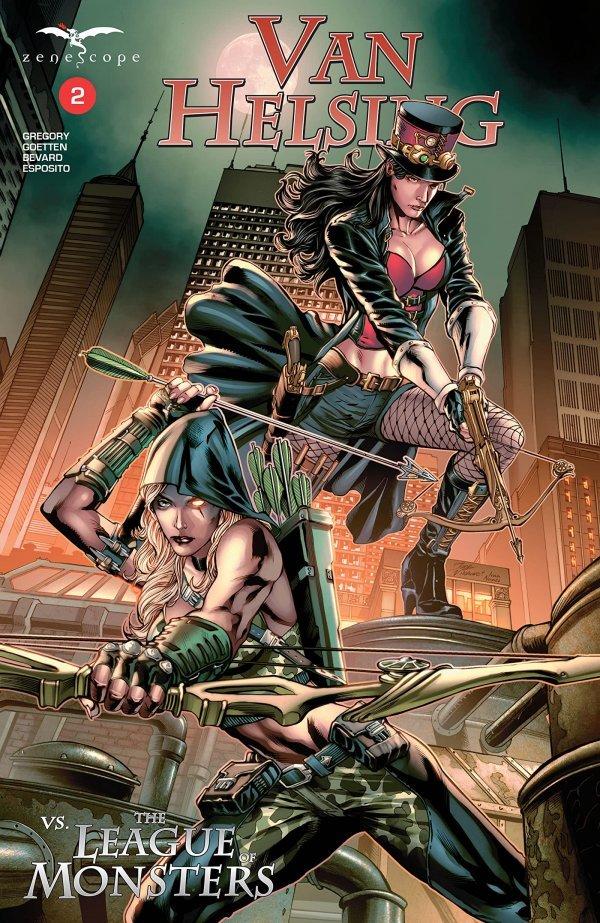 Van Helsing Vs. League Monster #2