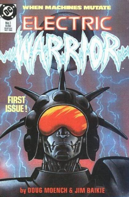 Electric Warrior #1