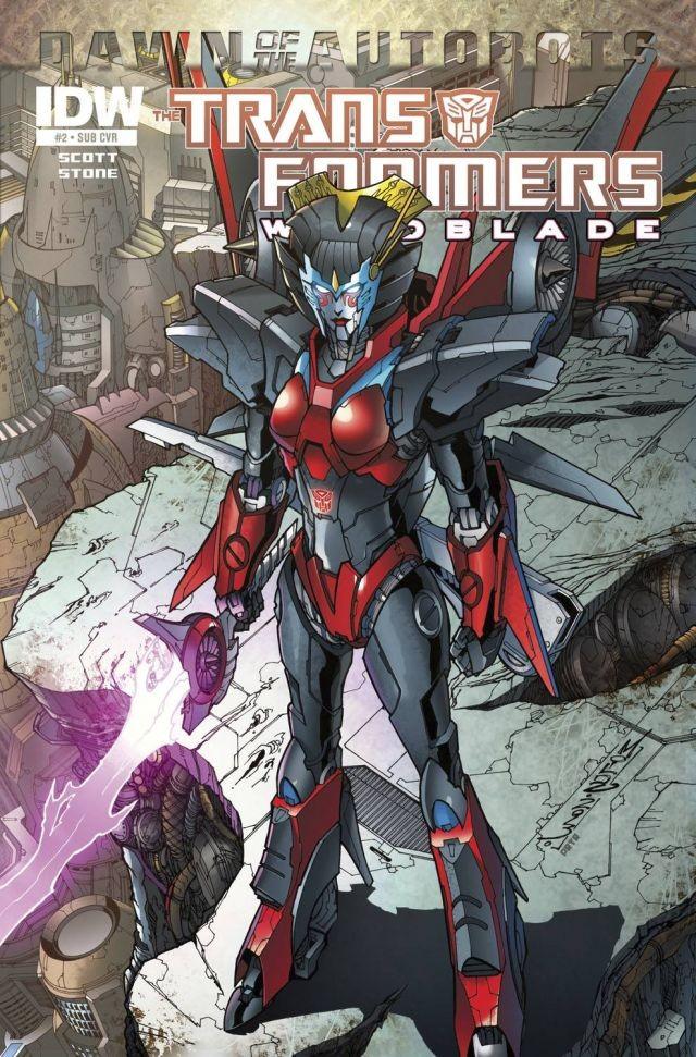 The Transformers: Windblade #2