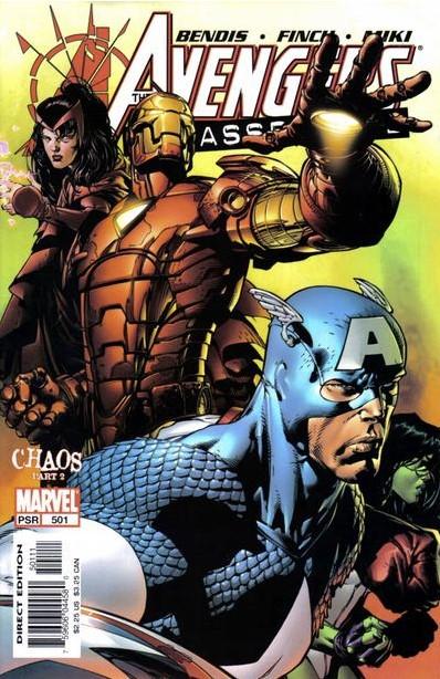 The Avengers #501