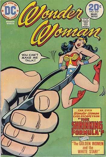 Wonder Woman #210