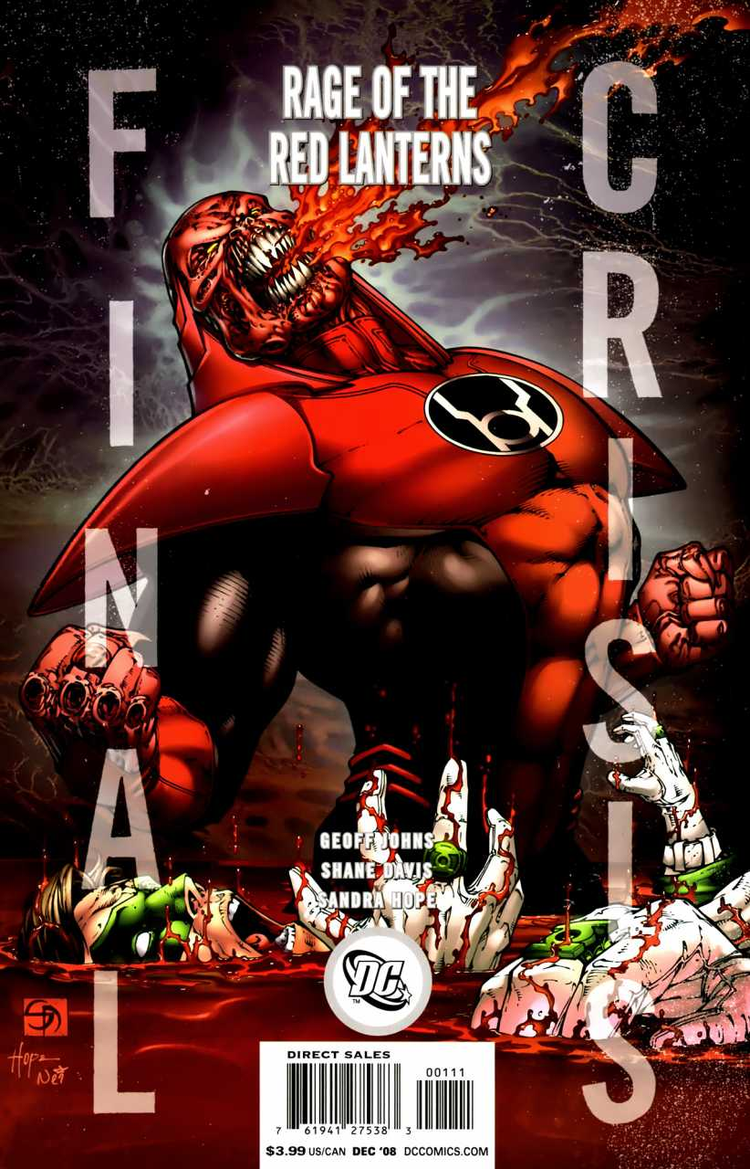 Final Crisis: Rage of the Red Lanterns #1
