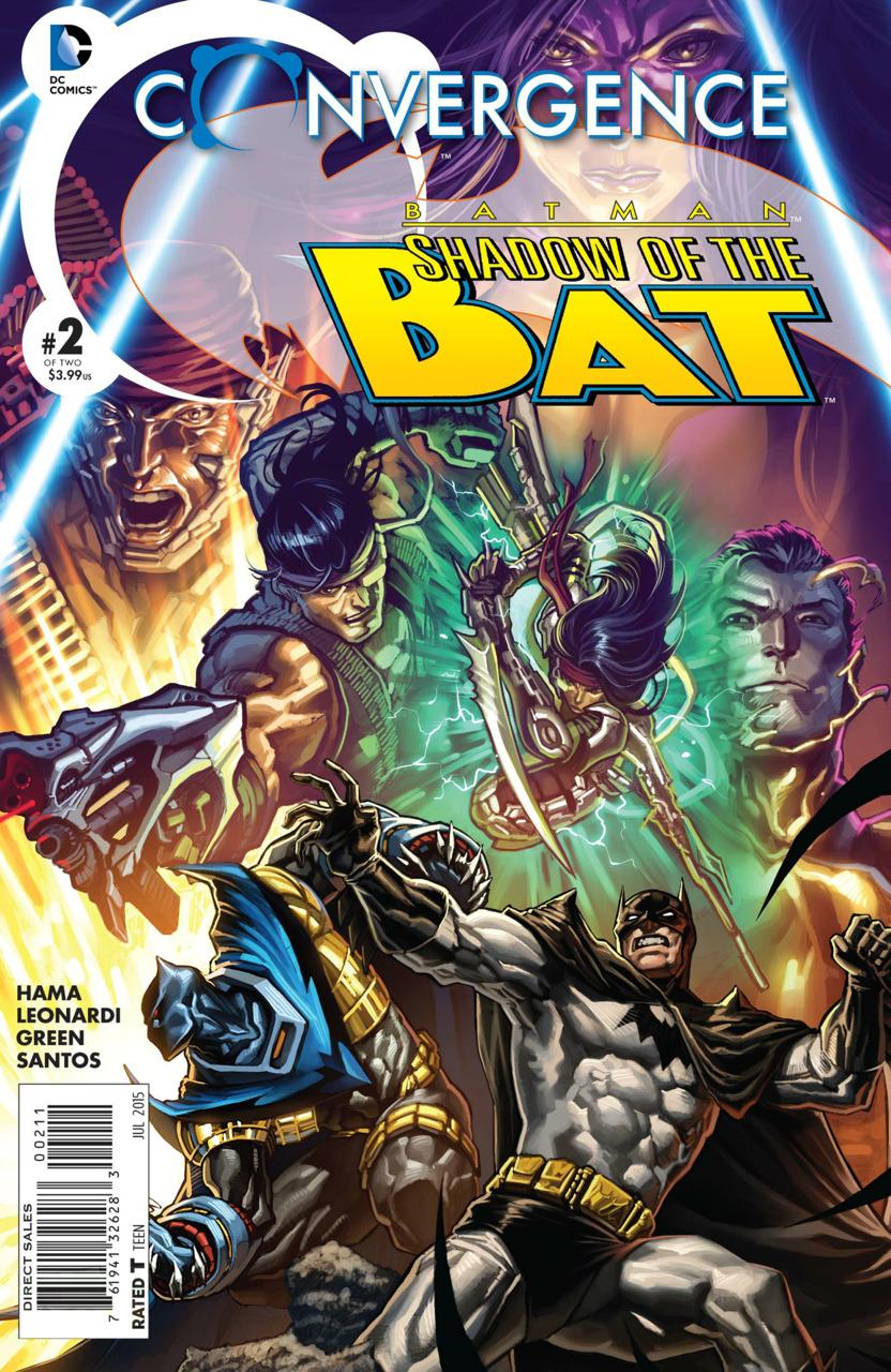 Convergence: Batman - The Shadow of the Bat #2