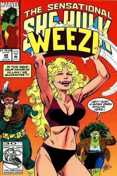 The Sensational She-Hulk #48